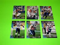 6 TORONTO ARGONAUTS UPPER DECK CFL FOOTBALL CARDS 81 82 86 89 92 142  #-5