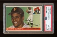 1955 Topps Set Break #164 Roberto Clemente RC PSA 4 VG-EX