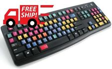 HOT! Avid Pro Tools New Color Editing Sticker for Keyboard Fast Your Improve WOW