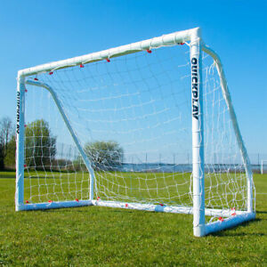 QUICKPLAY Q-Match Folding Football Goal Ideal For Home or Club, 6 x 4ft