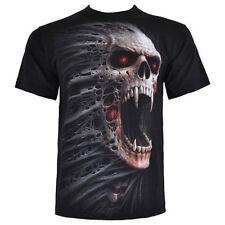 Herren-T-Shirts mit Skull Spiral
