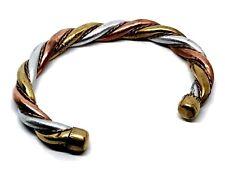Kada Bangle Bracelet Ashtadhatu Adjustable Wrist 8 Metals Hindu Meditation Yoga