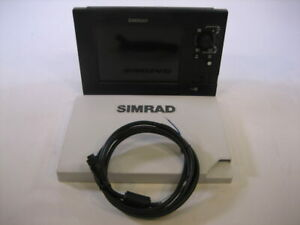 Simrad NSS8 Amer MFD Display+Sun Cover, Power Cable-Tested Working Cond