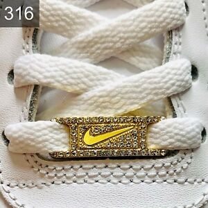 ✅Neue Nike Jordan 1 Schuh Schnallen Buckles Lace Locks 1 Stück✅