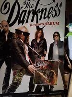 NO CD/LP - THE DARKNESS - cartonato pubblicitario rigido - ONE WAY TICKET- 48x68