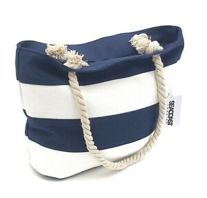 Canvas Seacoast Trading Carry All Beach Bag Tote