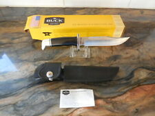 BUCK 119 SPECIAL FIXED BLADE HUNTING KNIFE W/LEATHER SHEATH ***NEW IN BOX***