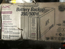 APC Back-UPS 500, 230V, Battery Backup UPS & Surge Protector - BK500EI