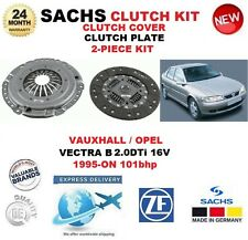 Para Opel Opel Vectra B 2.0 DTI 16V 101BHP 1995-ON Kit de embrague SACHS 2 Pieza