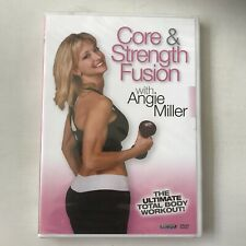Core & Strength Fusion DVD Ultimate Body Workout with Angie Miller  🏋️