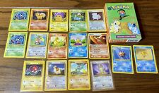 Pokémon Cards Lot Pikachu Charmander Squirtle Ivysaur Lot Base Set 2 Box (Empty)