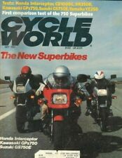 1983 May Cycle World Motorcycle Magazine Back-Issue