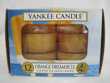 Yankee Candle Orange Dreamsicle Tealight Candles Box of 12