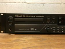 Tascam Cd-Rw900mkIi Cd Recorder - rack mountable, digital and analog inputs