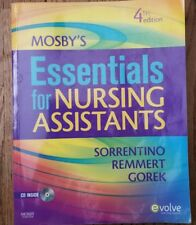 Mosby's Essentials For Nursing Assistants by Sheila A Sorrentino N