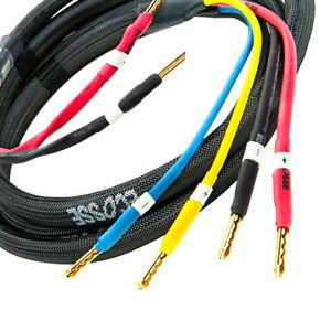 ES4.45 PREMIER+ Biwire Loudspeaker Cable 3.0m set 2to4 Cable by Ecosse