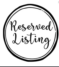 Reserved Listing.