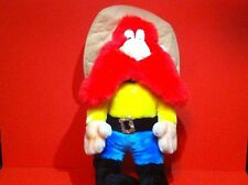 "YOSEMITE SAM PLUSH TOY LOONEY TUNES STUFFED DOLL 17"" VINTAGE WARNER BROS 1993"