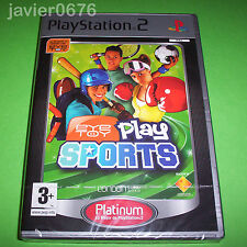 EYE TOY PLAY SPORTS NUEVO PRECINTADO PAL ESPAÑA PLAYSTATION 2 PS2