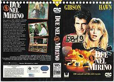 DUE NEL MIRINO (1990) vhs ex noleggio
