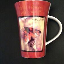 "Cornish Goodies fine bone china ""Burnet Moth"" Mug - lovely"