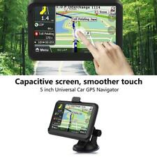 5'' ABS Touch Screen Car Navigator GPS Navigation 256MB 8GB with Back Clip Black