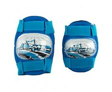 Boys Girls Elbow and Knee Pads blue Velcro cycle bike kids protective