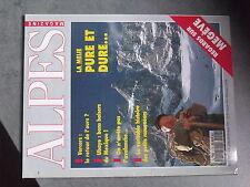 $$ Revue Alpes Magazine N°7 La Meije  Megeve  Vercors ours  Ubaye  avalanche
