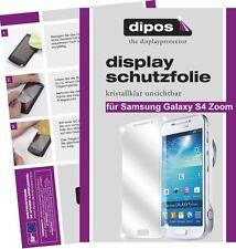 Samsung Galaxy S4 Zoom Protector de Pantalla protectores transparente