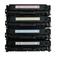 Canon 118 NON-OEM Color Toner Set for LBP-7200 imageCLASS MF8380Cdw MF8580Cdw