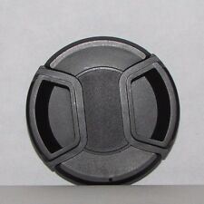 Used 58mm Lens Front Cap Black snap on type - worldwide