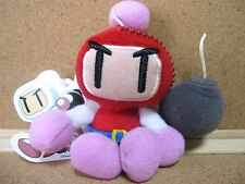 Bomberman Red Bomber Akabon Ball chain Stuffed toy Plush doll Figure w/tag