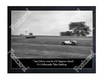 Historic Troy Ruttman in his #98 Agajanian Special, 1952 Indy Postcard