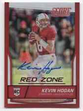2016 PANINI SCORE RED ZONE ROOKIE CARD RC KEVIN HOGAN #D /25 AUTOGRAPH CHIEFS SP