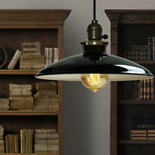 Modern Black Industrial Pendant Light Ceiling Lamp Metal Lamp Shade Fixture