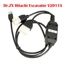 Dr.ZX Hitachi Excavator V2011A/DR.ZX OBD2 USB Cable PC Version Diagnostic Tool