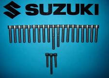 Suzuki DR125 125cc Stainless SS Engine Cover Allen Screw Bolt Kit UK FREEPOST