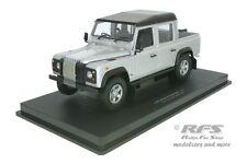 Land rover Defender 110 pick up-Argent Noir - 1:18 uh 3883