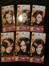 Any 2 SCHWARZKOPF Country Colors HAIR DYE Colours 49 58 65 70 75
