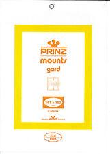 Package of 6 Prinz Black Mounts 161 x 160