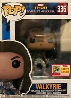 Limited Edition SDCC Marvel Exclusive Funko Pop Thor Ragnarok - Valkyrie #336