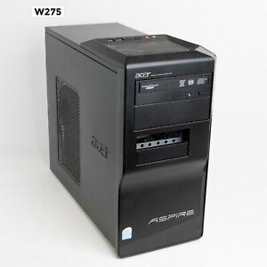 ACER ASPIRE M1641 INTEL PENTIUM DUAL CORE @2.50GHz/ 4GB/ 500 GB WIN 10 PRO W275