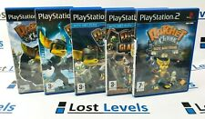 Ps2 - Ratchet & Clank 1 / 2 / 3 / Gladiator /Size matters - Boxed PlayStation 2