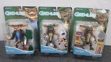 Brand New Lot of Three Gremlins Action Figures Neca