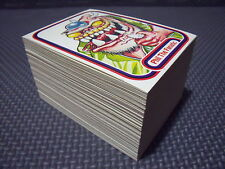 AWESOME ALL-STARS COMPLETE 127-CARD SET +3 WRAPPERS garbage pail kids 1988