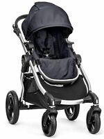 Baby Jogger City Select All Terrain Single Stroller Silver Frame Titanium NEW