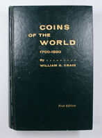 Coins Of The World 1750-1850 3rd Edition Craig By W.D