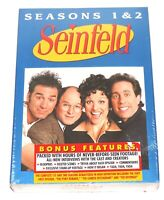 Seinfeld Volume 1 Seasons 1 & 2  4-Disc Full Screen DVD Set  NEW, Sealed