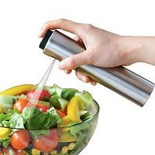 Stainless Steel Oil Bottle Pump Spray Fine Bottle Olive Oil Sprayer Kitchen Tool