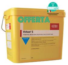 """VIRKON """"S""""10 Kg–Disinfettante universale efficace contro virus, batteri e funghi"""